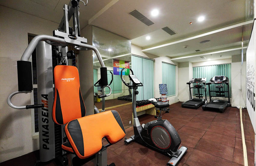 gym hotel southern comfort